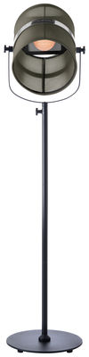 Lampadaire solaire La Lampe Paris LED / Sans fil - Maiori noir,kaki en métal