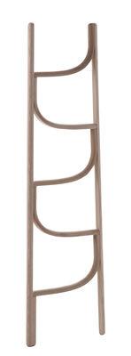 Mobilier - Compléments d'ameublement - Porte-serviettes Ladder / Porte-serviettes - H 160 cm - Wiener GTV Design - Bois naturel - Frêne massif cintré