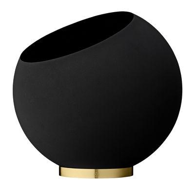 Pot de fleurs Globe / Ø 43 cm - Métal - AYTM noir,or en métal