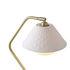 Oxford Double Schreibtischlampe / satiniertes Messing & Porzellan - Original BTC