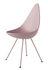 Sedia Drop - / Scocca plastica - Riedizione 1958 di Fritz Hansen