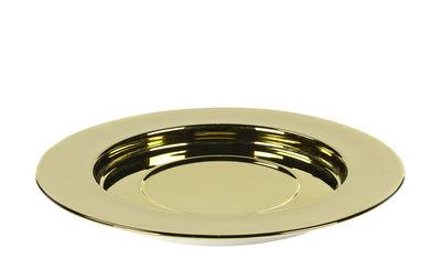 Sous-assiette San Pellegrino / Large - Ø 30 cm - Serax doré en céramique