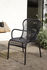 Loop Stackable armchair - / Hand-woven polyethylene cord by Vincent Sheppard