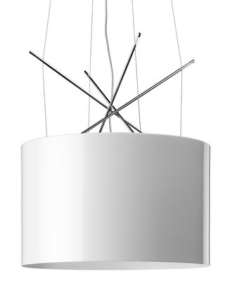 Suspension Ray S - Flos blanc en métal