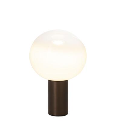 Lighting - Table Lamps - Laguna Table lamp - / Ø 26 x H 38 cm by Artemide - Bronze - Aluminium, Blown glass