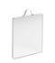 Ruban Medium Wall mirror - / L 16 x H 20 cm by Hay