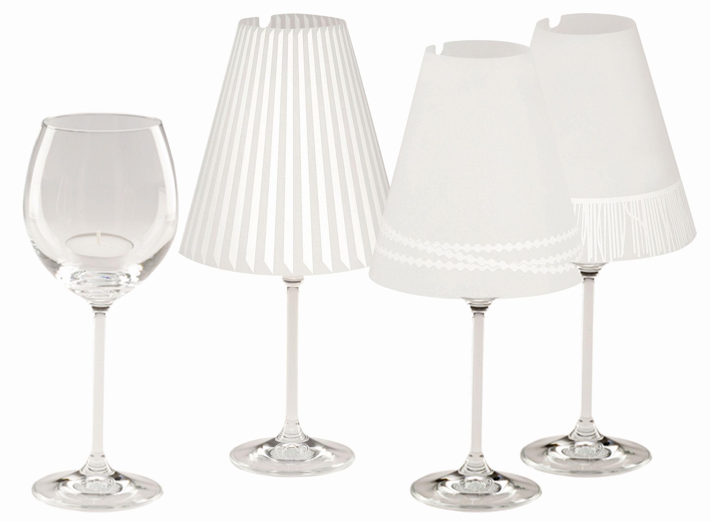 Dekoration - Spaßig und ausgefallen - Belle Hélène Windlicht - Pa Design - Weiß-transparent - Papierfaser