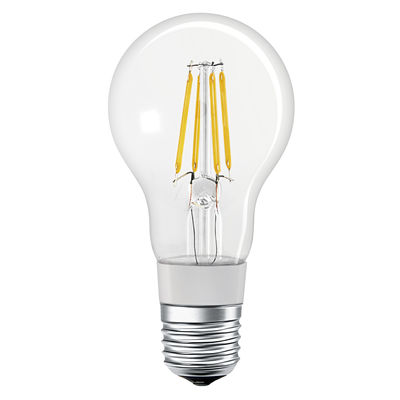 Ampoule LED E27 connectée / Smart+ - Filaments Stardard 5,5W=50W - Ledvance transparent en verre