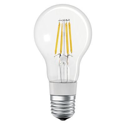 Illuminazione - Lampadine e Accessori - Lampadina LED E27 connessa - / Smart+ - Incandescenza Stardard 5,5W=50W di Ledvance - Trasparente - Vetro