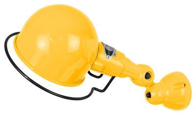 Applique Signal Ø 10 cm - Jieldé moutarde brillant en métal