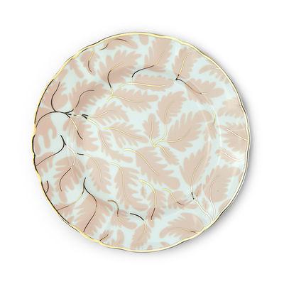 Arts de la table - Assiettes - Assiette à dessert Selva / Ø 20,5 cm - Bitossi Home - Floral - Porcelaine
