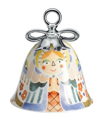 Boule de Noël Holy Family / Cloche Maria - Porcelaine peinte main - Alessi multicolore en céramique