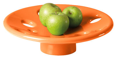 Tableware - Fruit Bowls & Centrepieces - Dots Centrepiece by Slide - Orange - recyclable polyethylene