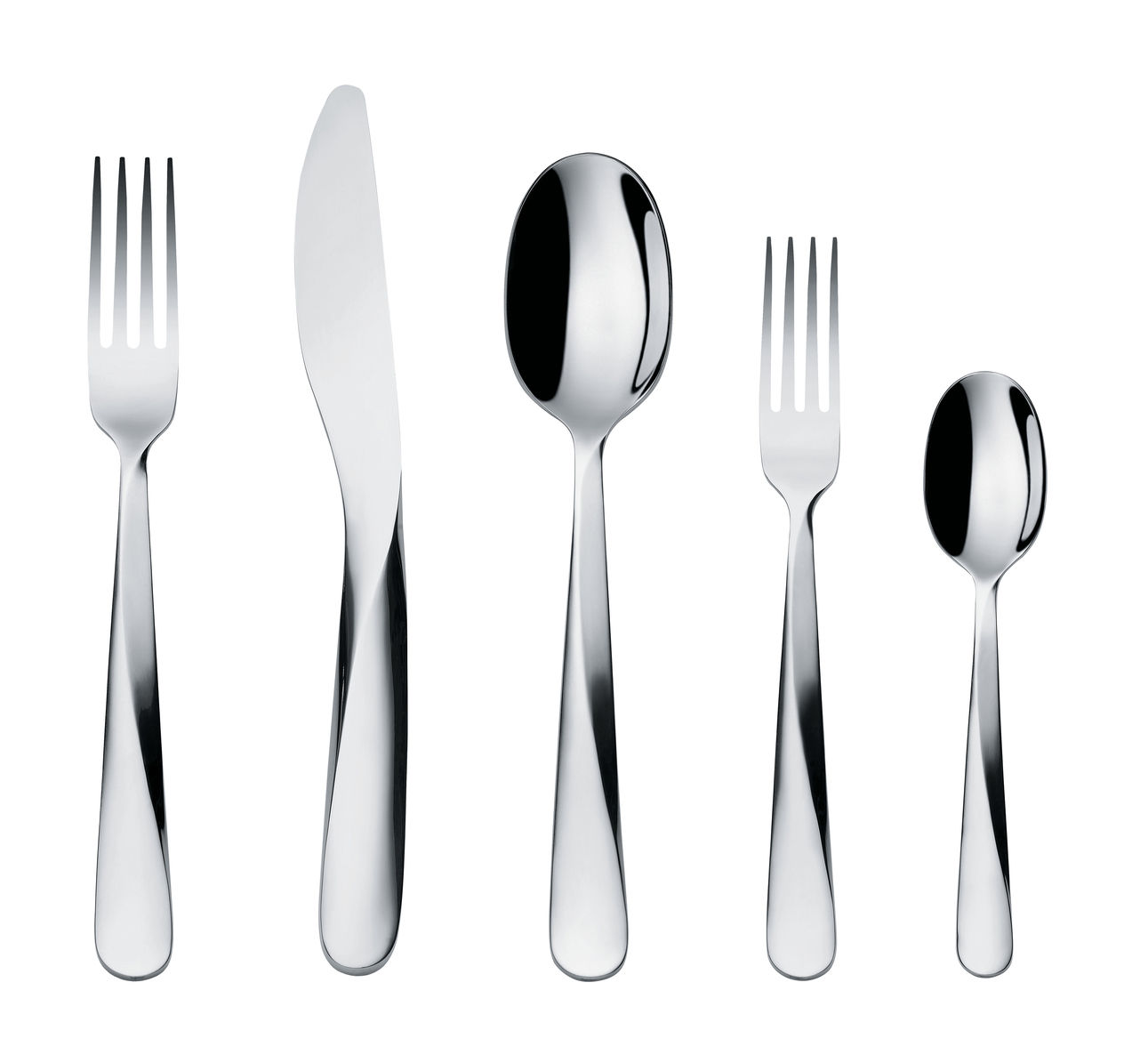 Alessi Giro Cutlery Set Metal Made In Design Uk
