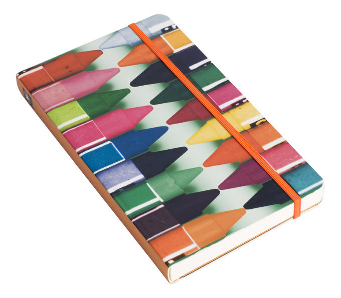 Decoration - Office - Eames Notepad - A5 by W2 Products - Crayons - Multicoloured - Paper