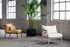 Capizzi Padded armchair - / Rattan & fabric by Serax