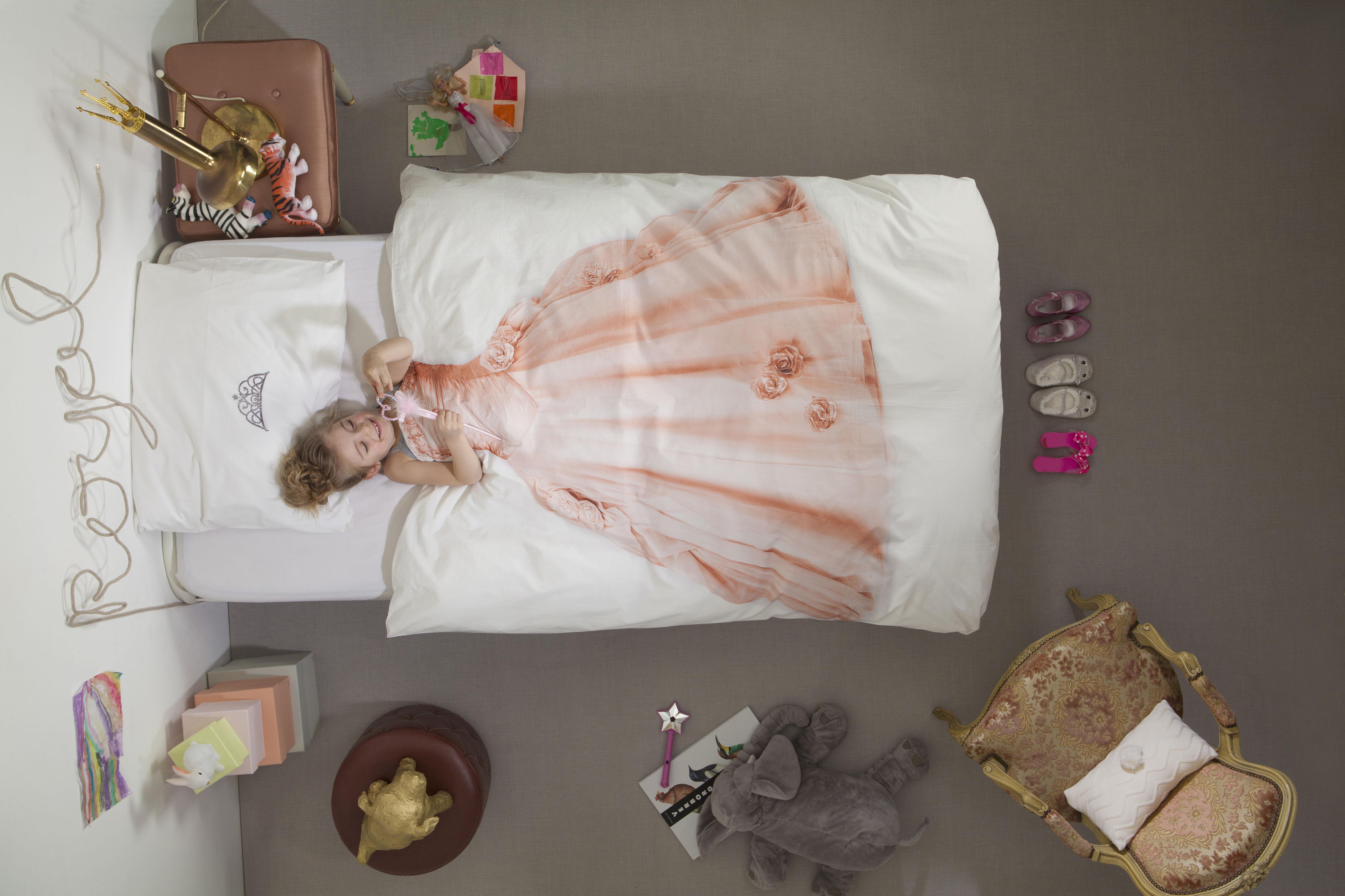 Parure De Lit 1 Personne Princesse Snurk Princesse Rose L 200