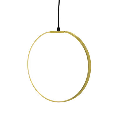 Pendelleuchte LED / Ø 35 cm - Metall - Bloomingville - Gold
