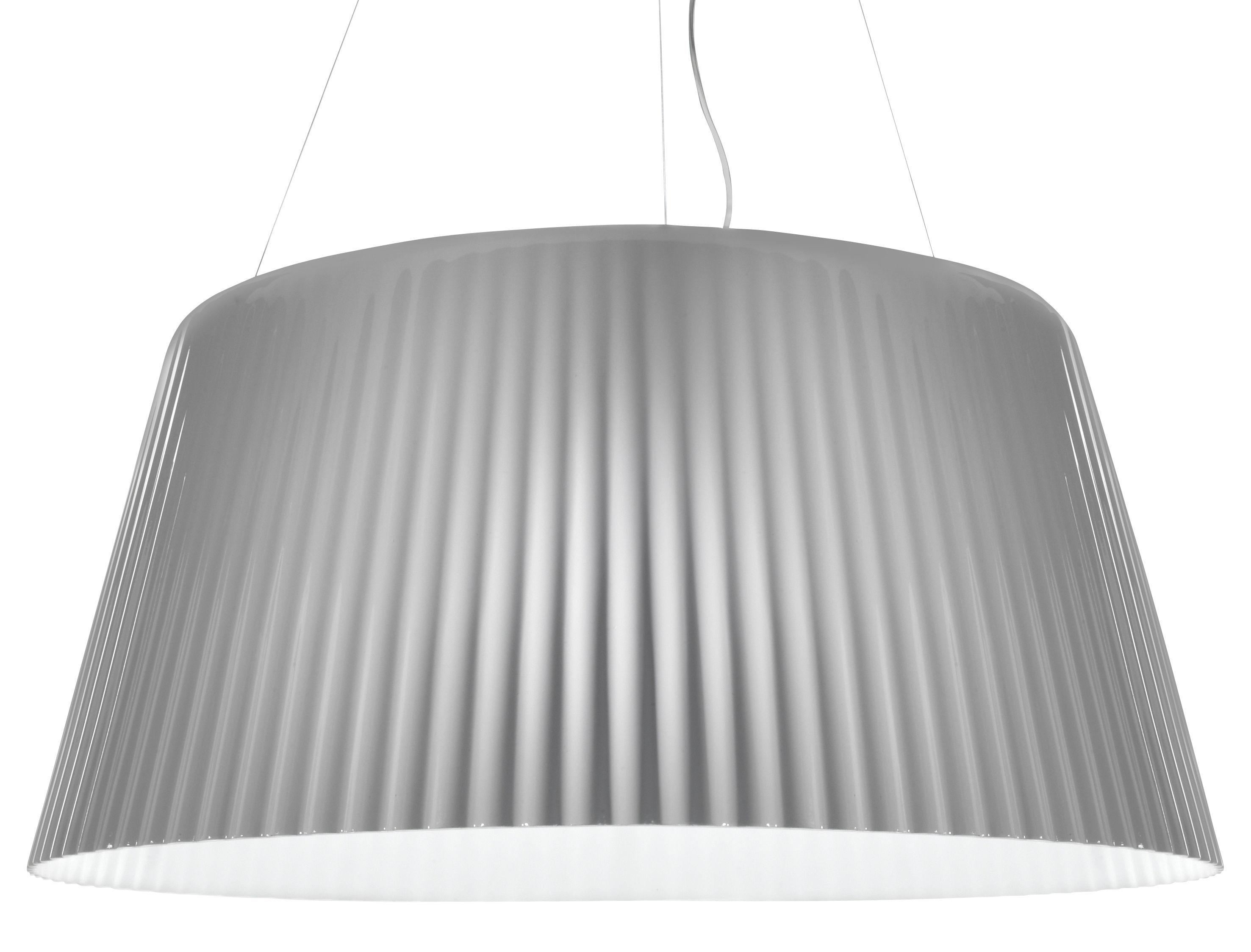 Leuchten - Pendelleuchten - Lampa-Daria Pendelleuchte - Serralunga - Weiß matt - Polyäthylen