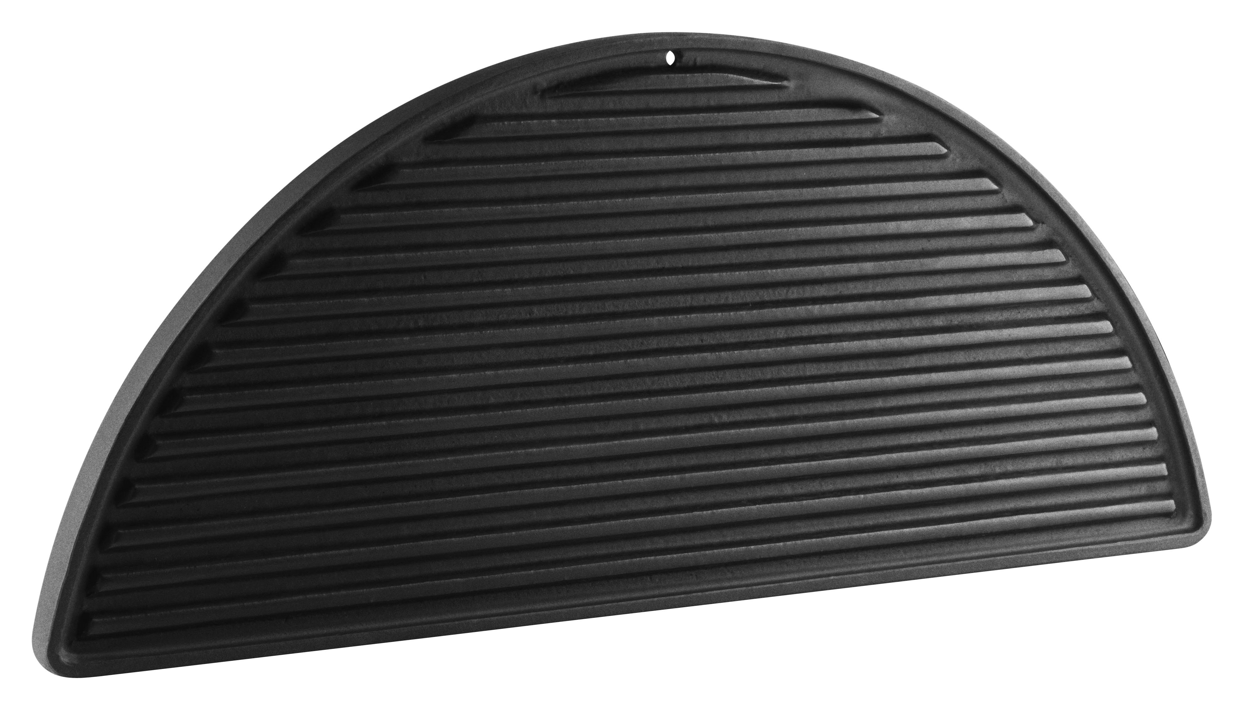 Outdoor - Barbecues & Charcoal Grills - Plancha - Cast iron - For barbecue by Eva Solo - Black - Cast enameled iron