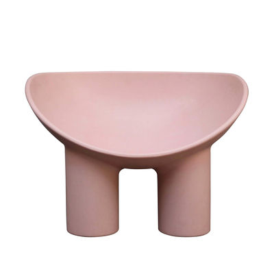 Arredamento - Poltrone design  - Poltrona Roly Poly - / Polietilene di Driade - Rosa Flash - Polietilene