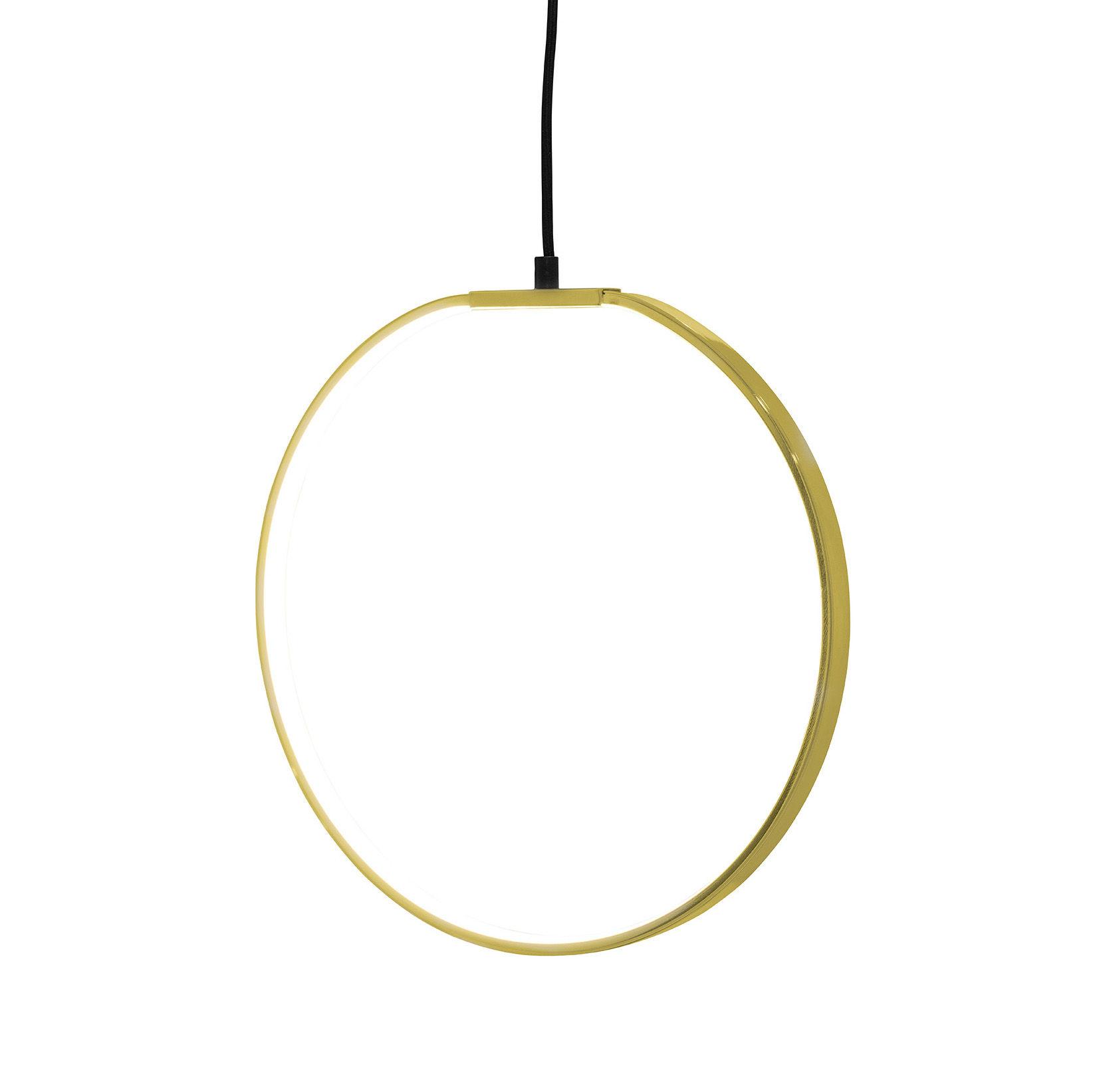 Illuminazione - Lampadari - Sospensione - LED / Ø 35 cm - Metallo di Bloomingville - Or - Métal finition dorée