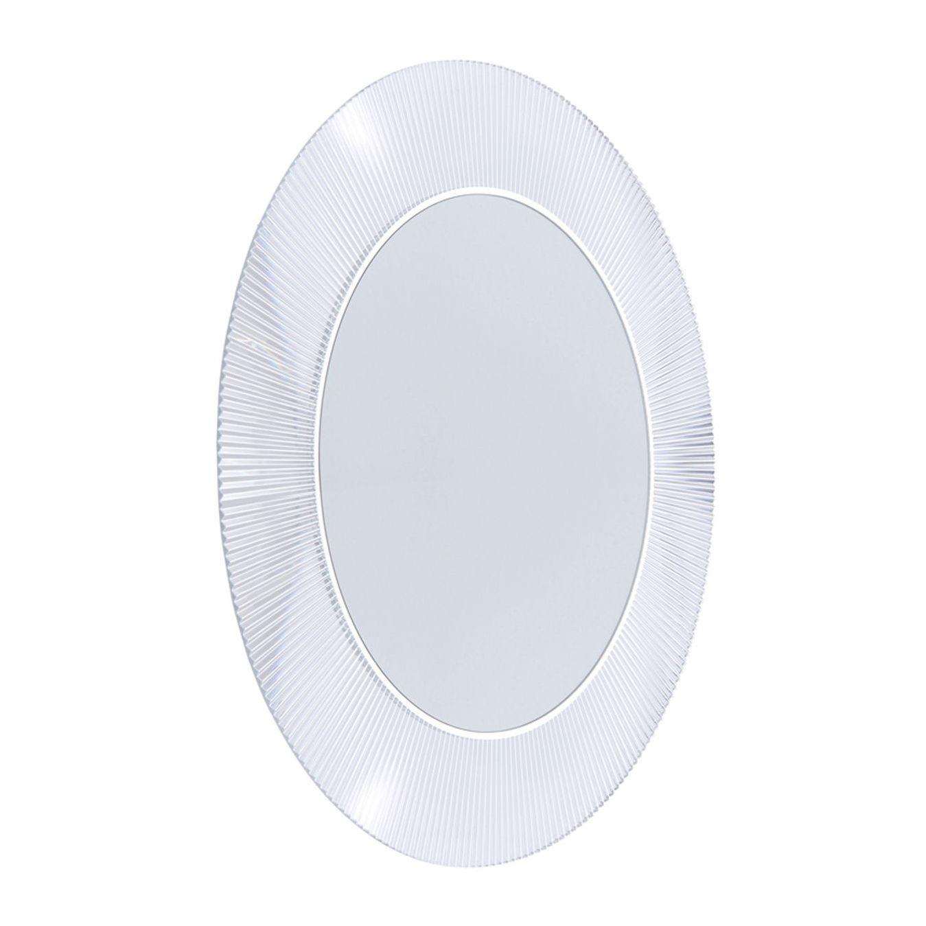 Specchio luminoso all saints kartell cristallo 78 made in design - Kartell accessori bagno ...