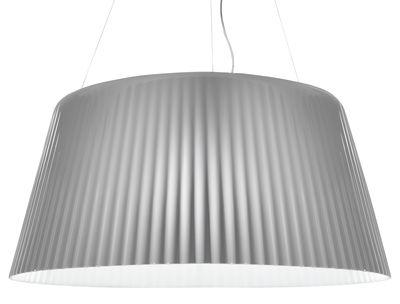 Luminaire - Suspensions - Suspension Lampa-Daria - Serralunga - Blanc mat - Polyéthylène