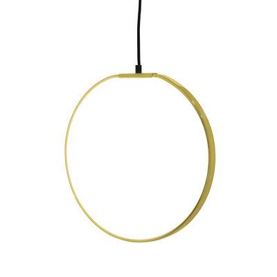 Suspension LED / Ø 35 cm - Métal - Bloomingville or en métal