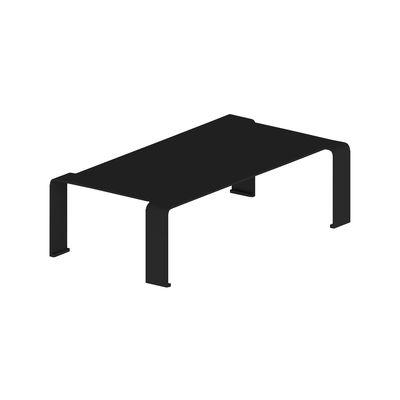 Mobilier - Tables basses - Table basse Spin Large / 130 x 73 x H 36 cm - Zeus - Noir cuivré sablé - Acier