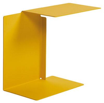 Table d'appoint Diana A ClassiCon jaune miel en métal