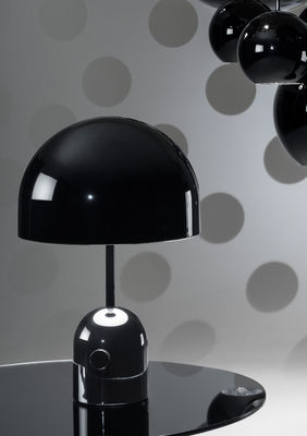Table Lamp Bell Small By Tom Dixon Glossy Black L 200 X H 44 X O
