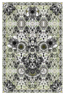 Déco - Tapis - Tapis Eden King / 300 x 200 cm - Moooi Carpets - Tons vert / gris - Polyamide