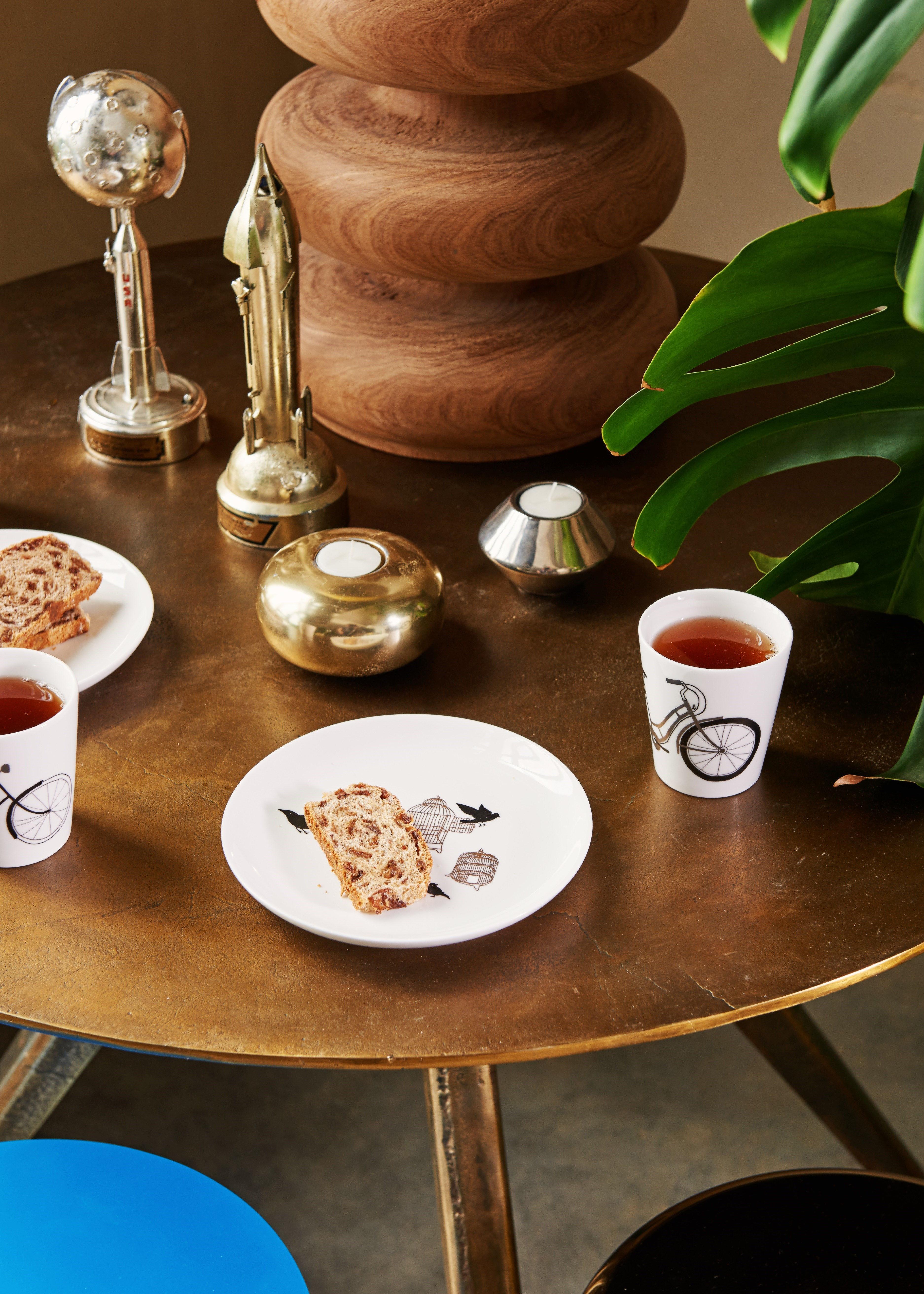 freedom birds teller 4er set 20 cm motive schwarz. Black Bedroom Furniture Sets. Home Design Ideas