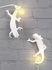 Applique avec prise Chameleon Going Up / Lampe de table - Résine - Seletti