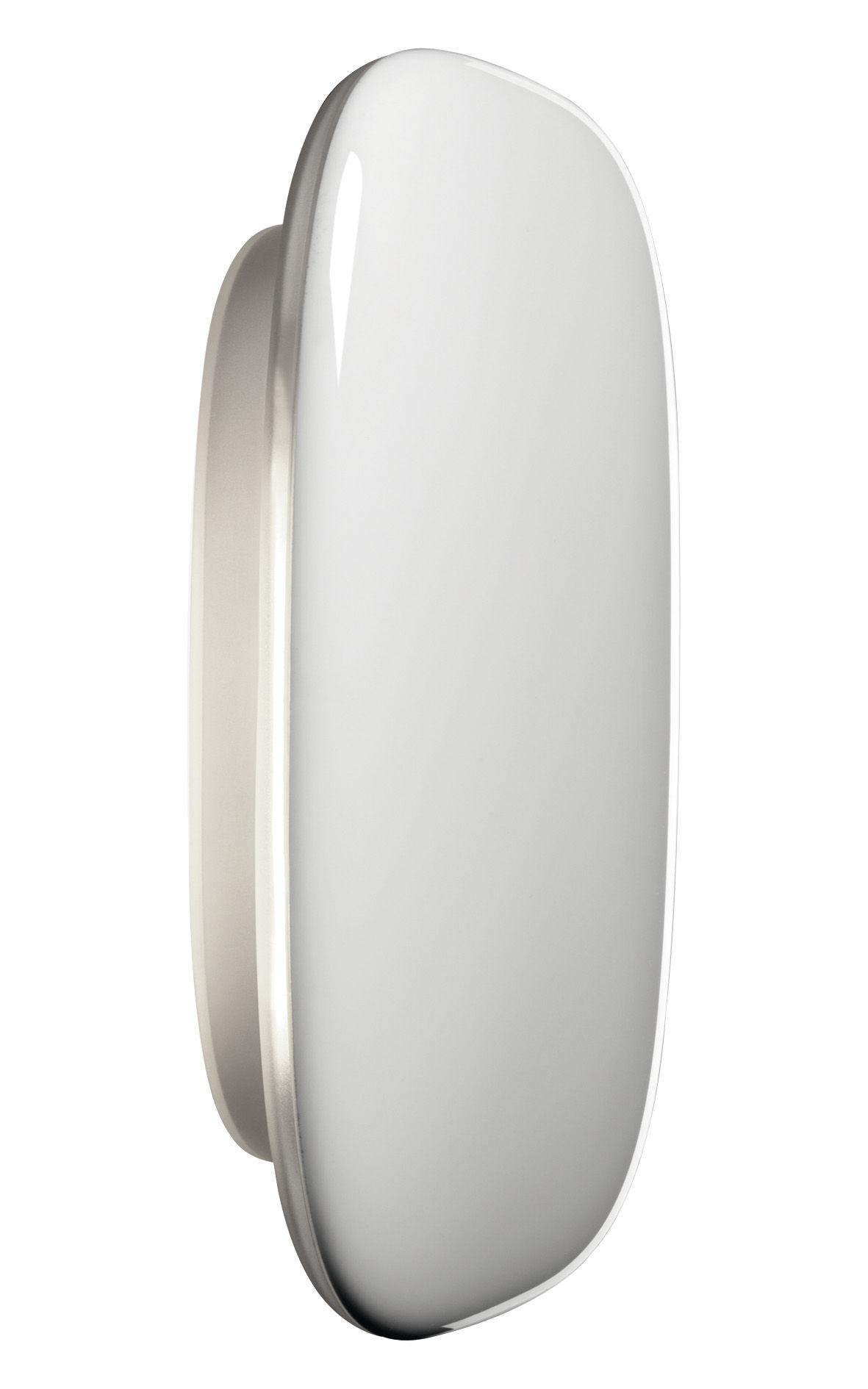 Luminaire - Appliques - Applique Tivu / L 17 x H 13 cm - Foscarini - Blanc - Polycarbonate