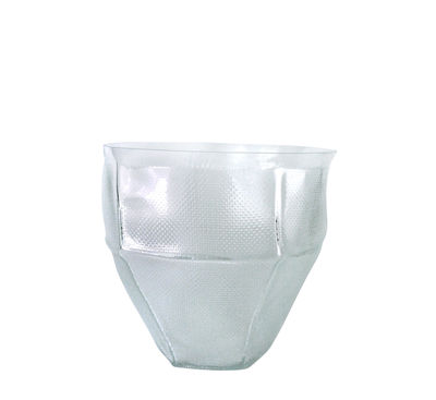 Decoration - Vases - Trace bowl Bowl - / Ø 30 x H 26 cm by Vanessa Mitrani - Transparent - Blown glass