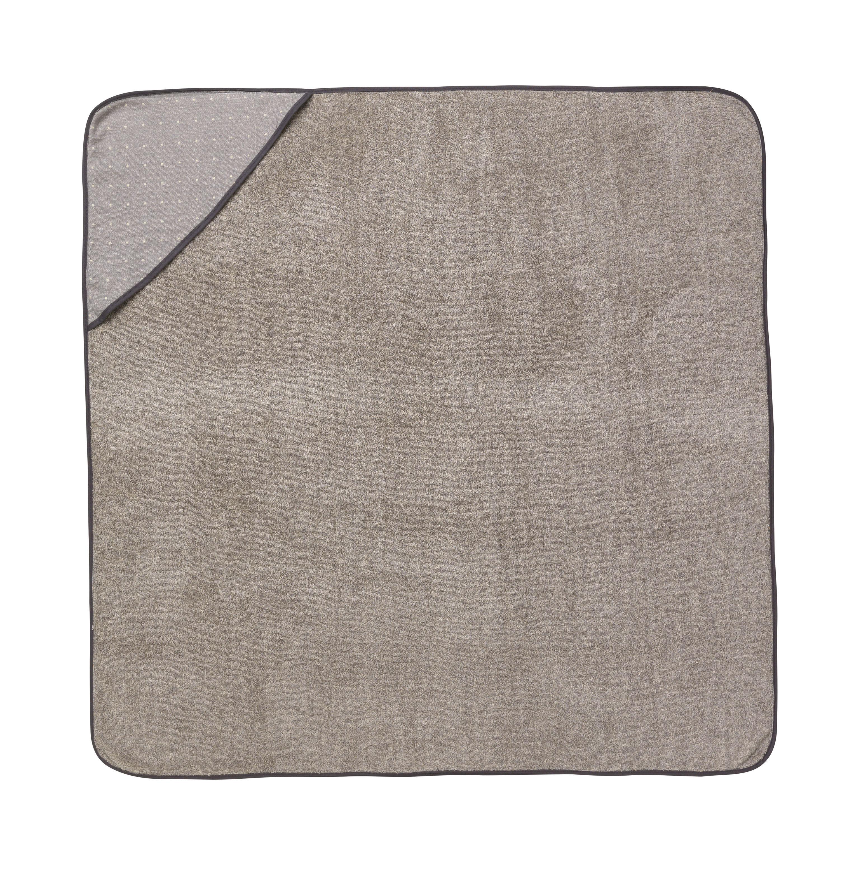 Déco - Pour les enfants - Cape de bain Sento baby / 98 x 98 cm - Coton bio - Ferm Living - Gris - Coton biologique