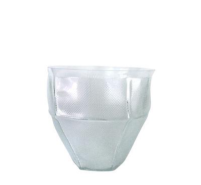 Interni - Vasi - Coppa Trace bowl - / Ø 30 x H 26 cm - Fatto a mano di Vanessa Mitrani - Trasparente - vetro soffiato