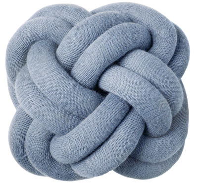 Déco - Coussins - Coussin Knot - Design House Stockholm - Bleu - Tissu