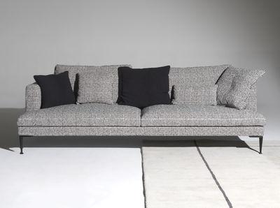 Divani Bianchi E Neri : Lirico divano destro posti l cm quadrati neri