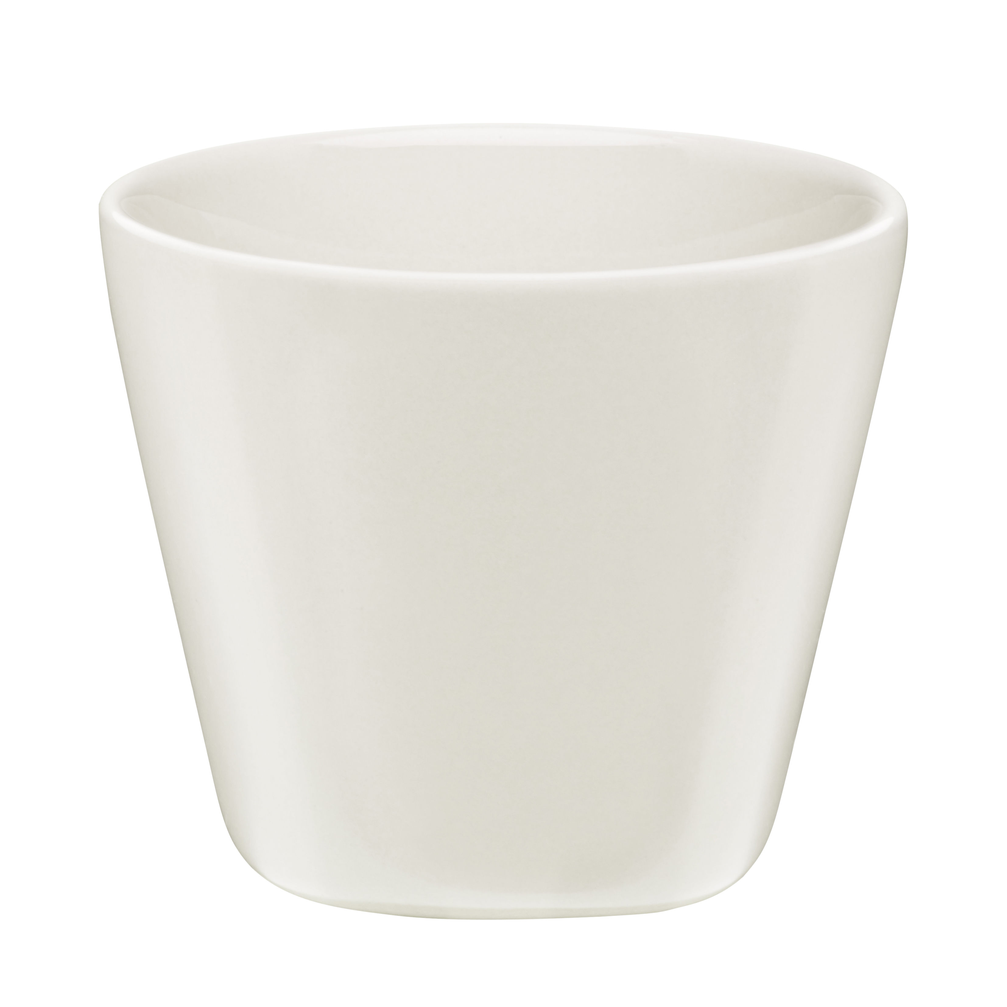 Tableware - Tea & Coffee Accessories - Iittala X Issey Miyake Espresso cup - H 7,5 cm by Iittala - White - China