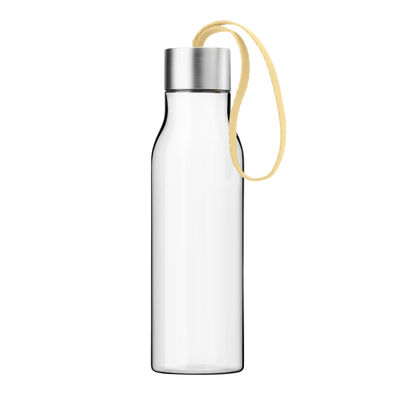 Arts de la table - Carafes et décanteurs - Gourde Small 0,5 L / Bouteille nomade plastique écologique - Eva Solo - Citron givré - Plastique écologique