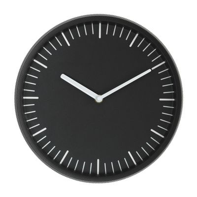 Horloge murale Day / Acier - Ø 28 cm - Normann Copenhagen noir en métal