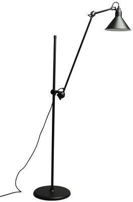 Lampadaire N°215L / H 142 à 230 cm - Lampe Gras - DCW éditions noir en métal