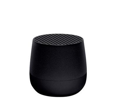 Accessoires - Enceintes audio & son - Mini enceinte Bluetooth Mino 3W / Sans fil - Recharge USB - Lexon - Noir - ABS, Aluminium