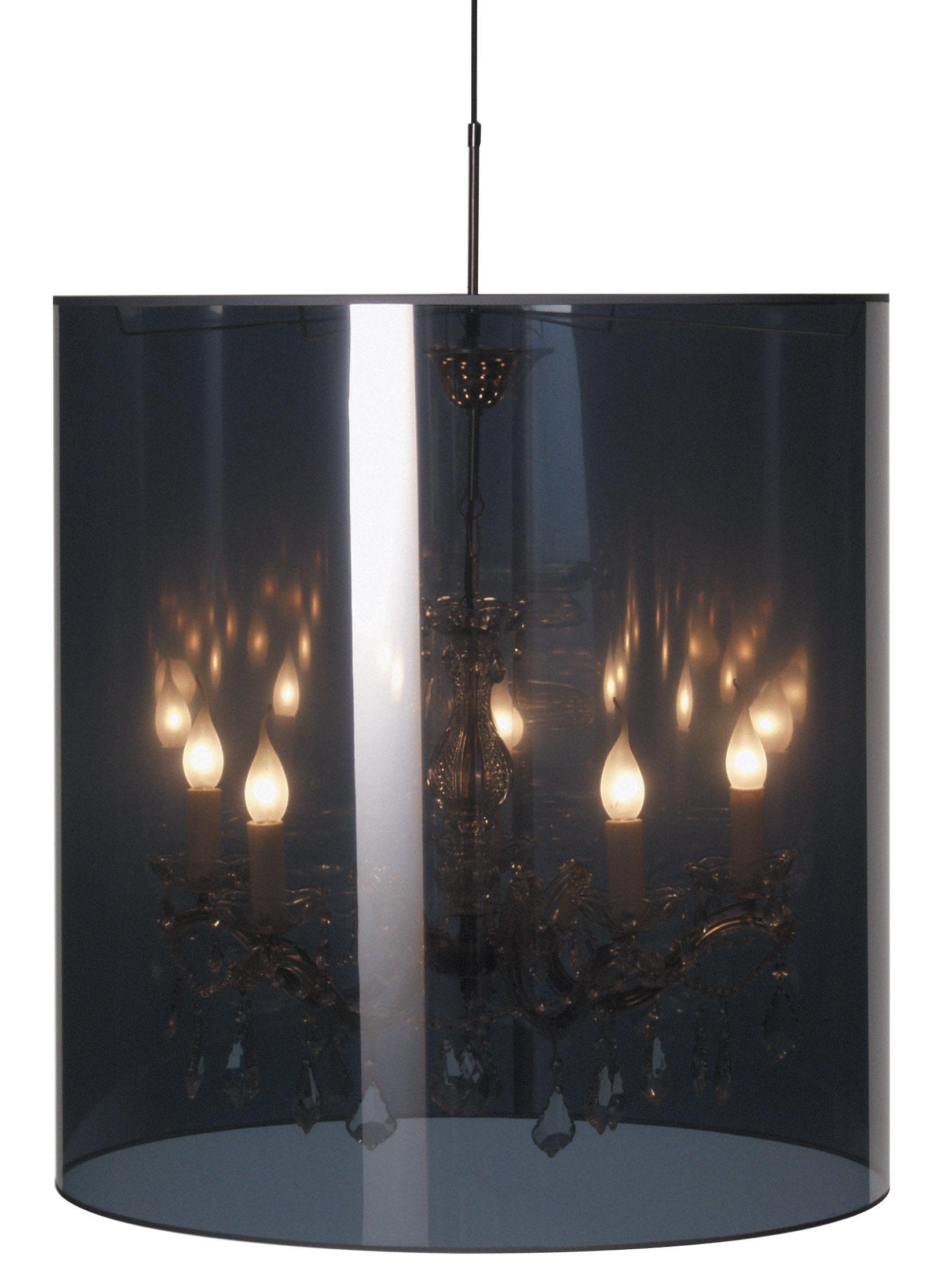 Leuchten - Pendelleuchten - Light Shade Shade Pendelleuchte Ø 70 cm - Moooi - Spiegel und gold - Ø 70 cm - Glas, Metall, Plastikmaterial
