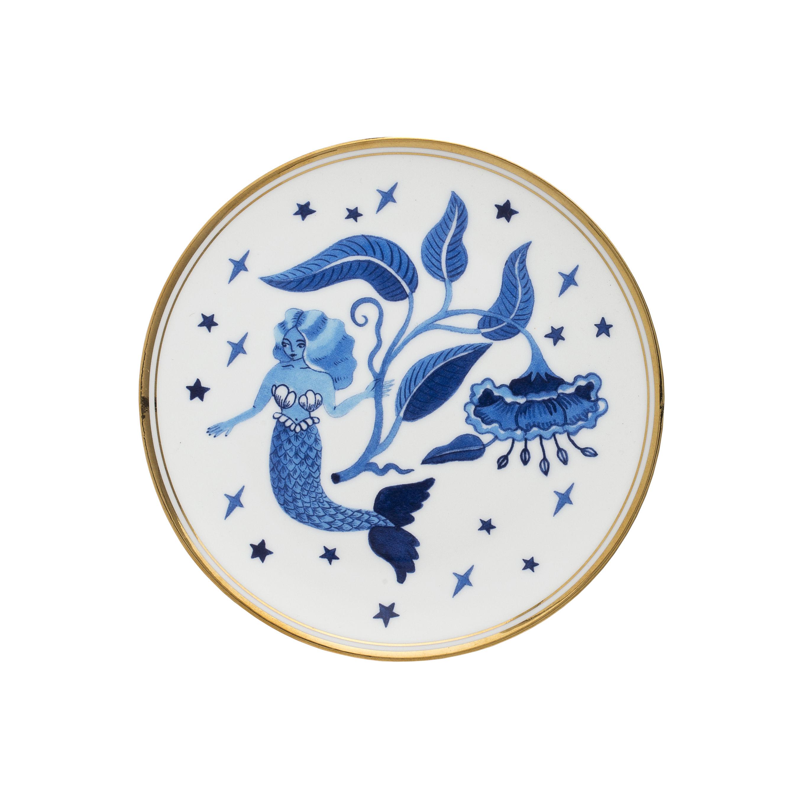 Tavola - Piatti  - Piatto da dessert Siren - / Ø 15 cm di Bitossi Home - Siren - Porcellana