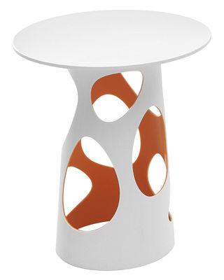 pied de table lumineux liberty myyour ext rieur blanc interieur orange h 74 x 42 made. Black Bedroom Furniture Sets. Home Design Ideas