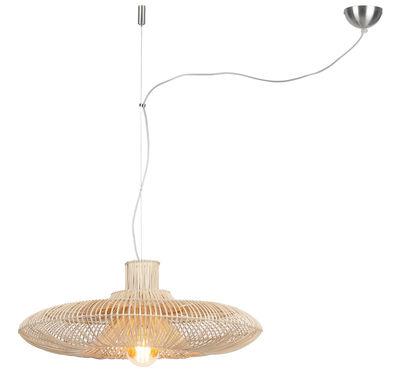 Illuminazione - Lampadari - Sospensione Kalahari Large - / Bambù - Ø 70 cm di GOOD&MOJO - Ø 70 cm / Rattan - Midollino